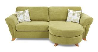 Pennie 4 Seater Formal Back Lounger Sofa