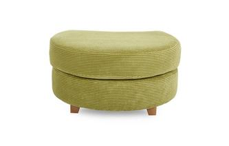 Half Moon Footstool Pennie