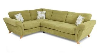 Pennie Right Hand Facing 3 Seater Formal Back Corner Sofa