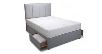 Peony King 2 Drawer Bed