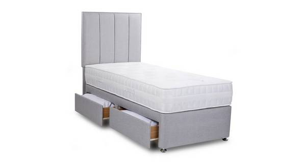 Peony Single (3 ft) 2 Drawer Bed