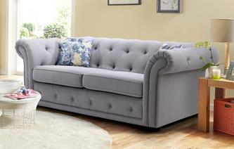 Fabric sofas that are perfect for your home dfs for Phoebe corner sofa