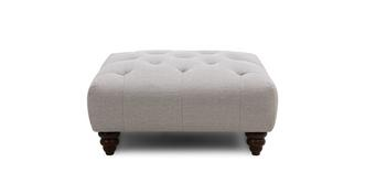 Phoebe Square Button Top Footstool