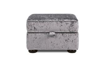 Glitz Storage Footstool Abbey Glitz