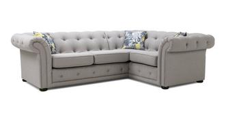 Phoebe Left Hand Facing 2 Seater Corner Sofa