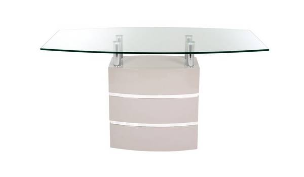 Piatto Fixed Top Dining Table