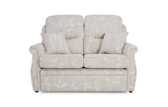 Fabric B 2 Seater Formal Back Fixed Sofa