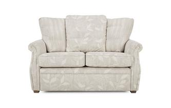 Fabric B 2 Seater Pillow Back Fixed Sofa