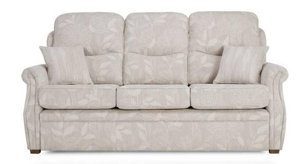 Pinter 3-zits vaste bank met vaste kussens