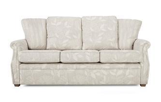 Fabric B 3 Seater Pillow Back Fixed Sofa