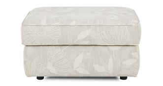 Pinter Fabric B Storage Footstool