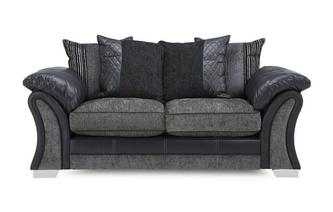 Large 2  Seater Pillow Back Sofa Pioneer