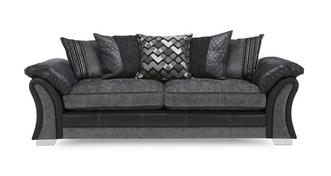 Pioneer 4 Seater Pillow Back Sofa