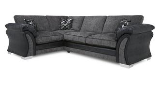 Pioneer Right Hand Facing Formal Back 3 Seater Corner Sofa