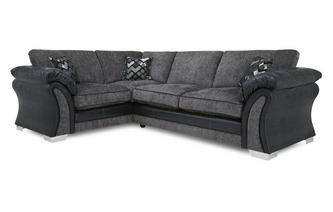 Right Hand Facing Formal Back Deluxe Corner Sofa Bed Pioneer