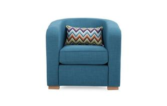 Accent Chair with Pattern Bolster Revive