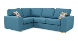 Pizzazz Right Hand Facing 2 Seater Corner Sofa Bed