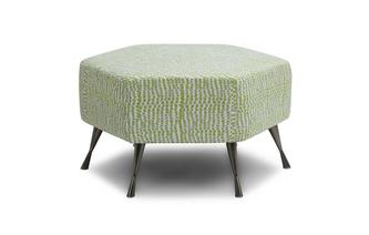 Hexagon Footstool Dotty
