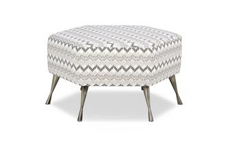Hexagon Footstool