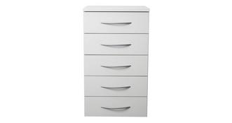 Plaza 5 Drawer Chest