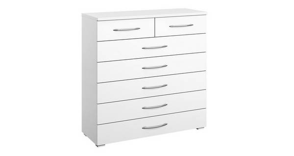 Plaza 7 Drawer Wide Chest