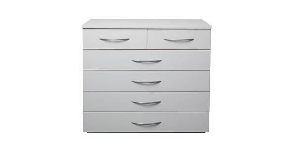 Plaza 6 Drawer Wide Chest