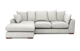 Pillow Back Left Hand Facing Small Chaise End Sofa