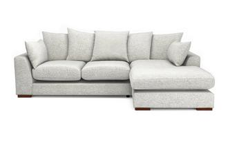 Pillow Back Right Hand Facing  Small Chaise End Sofa