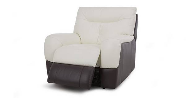 Polar Leather and Leather Look Manual Recliner Chair