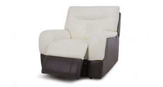 Polar Leather and Leather Look Electric Recliner Chair