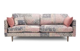 Pattern 4 Seater Sofa