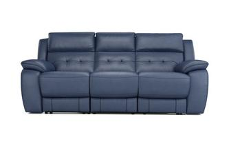 Porto 3 Seater Manual Recliner Premium