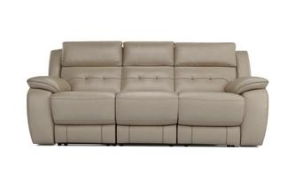Porto 3 Seater Electric Recliner Premium