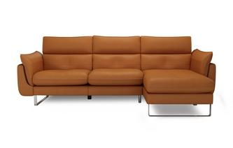 Positano Right Hand Facing Chaise End Sofa Taiga