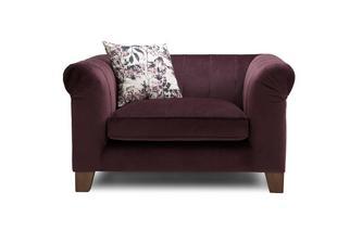Velvet Cuddler Sofa Lust Velvet