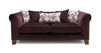 Primrose Velvet 3 Seater Sofa