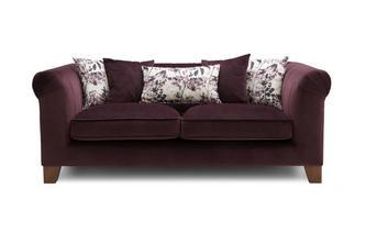 Velvet 3 Seater Sofa Lust Velvet