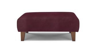 Primrose Velvet Banquette Footstool