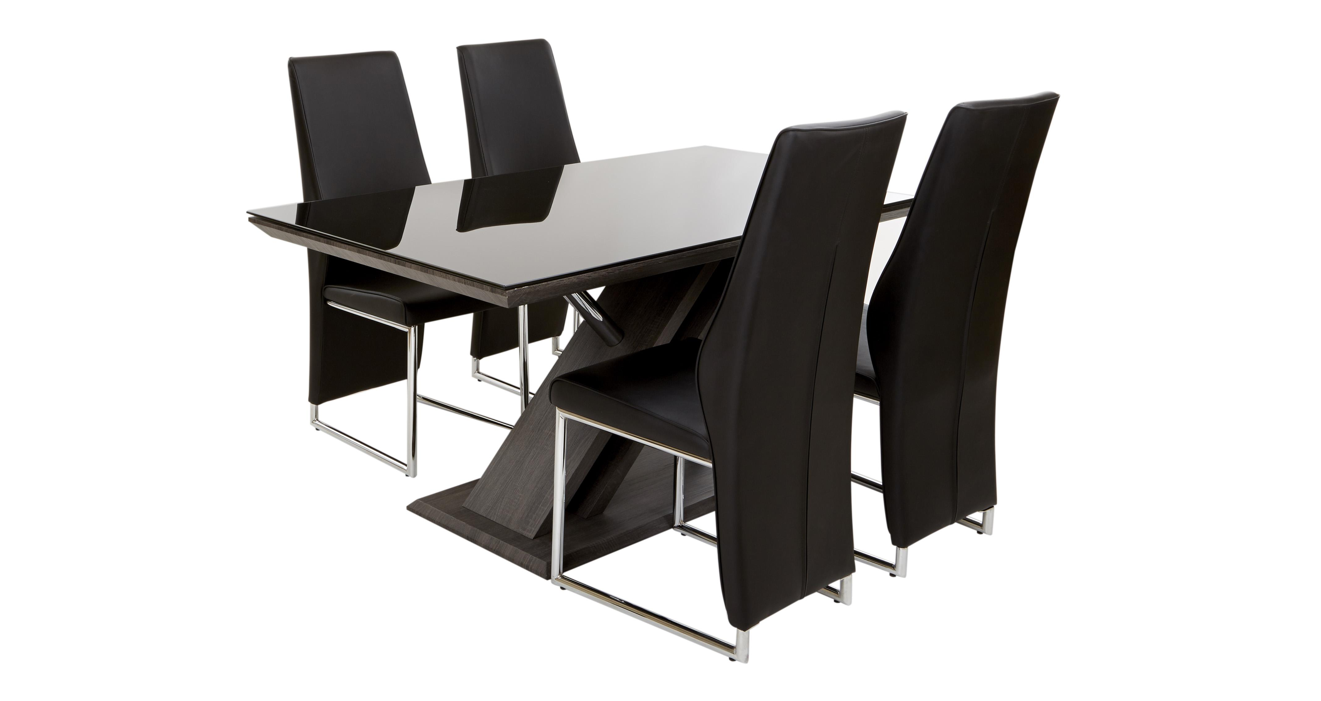 Prospect Fixed Table Set Of 4 Chairs
