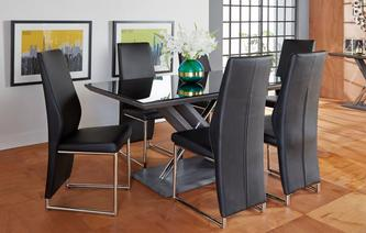 Prospect Fixed Table & Set of 4 Chairs Prospect