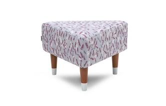Triangle Footstool Fleck