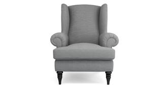 Quant Plain High Back Wing Chair