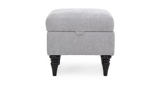 Quant Plain Storage Footstool