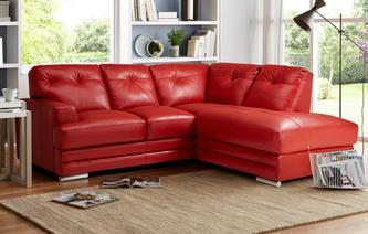 Quantum Left Hand Facing Arm Corner Sofa Venezia