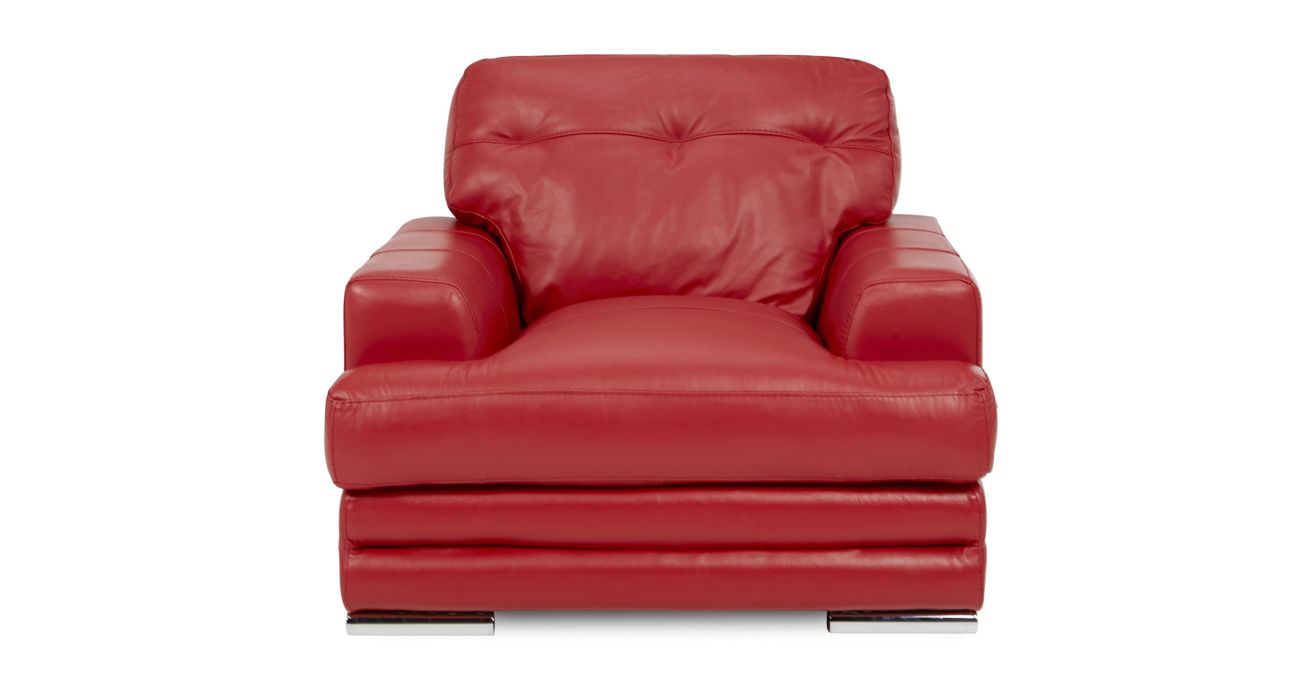 Quantum Clearance Left Hand Corner Sofa Chair & Footstool Venezia