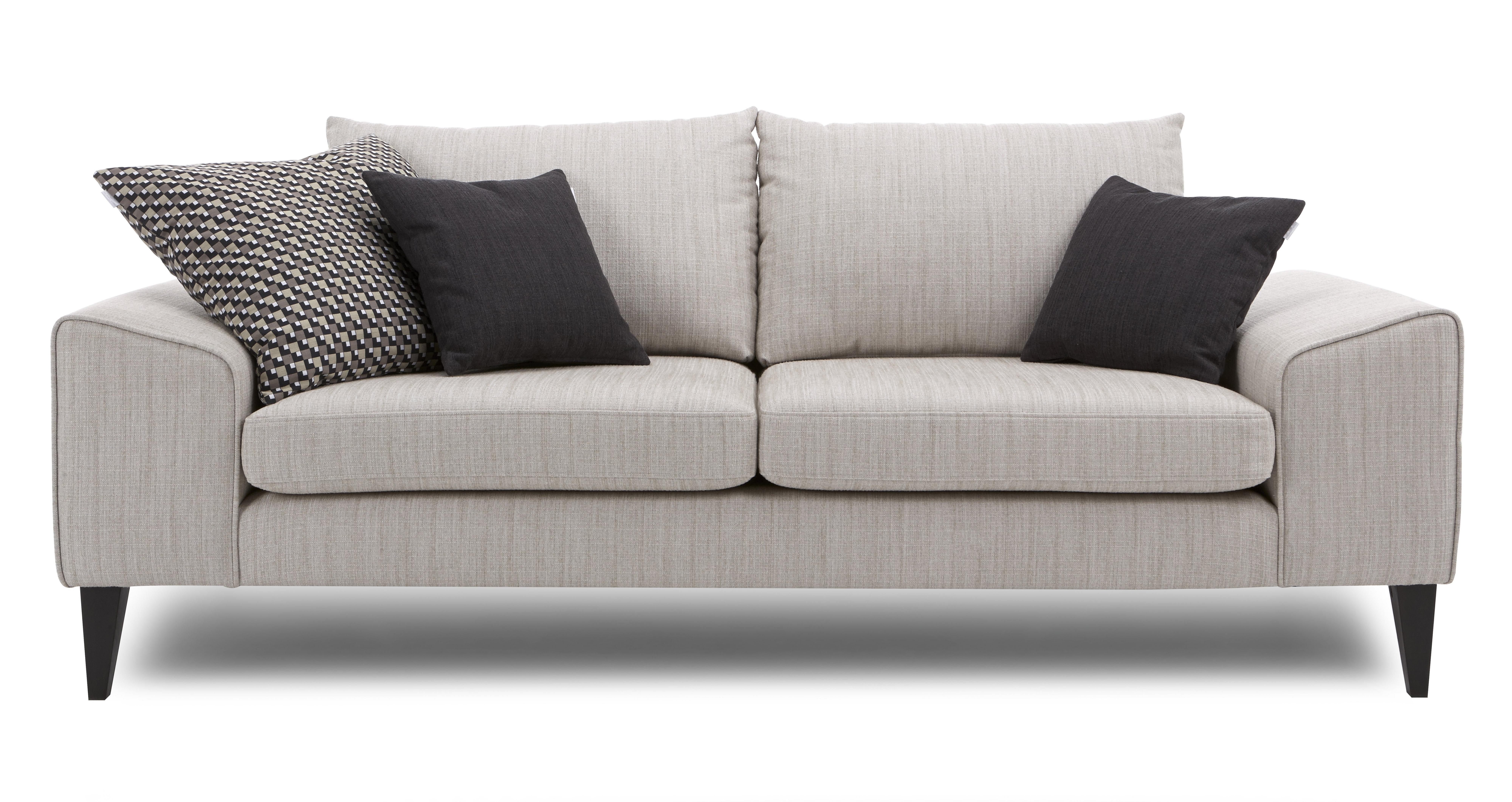 dbcc72e8ca0 Quartz Left Hand Facing Chaise Sofa | DFS