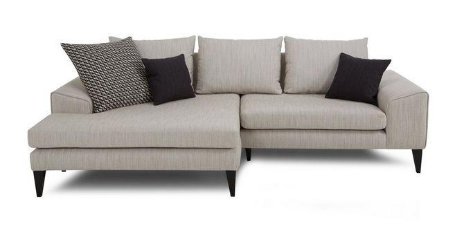 Awesome Quartz Left Hand Facing Chaise Sofa Machost Co Dining Chair Design Ideas Machostcouk