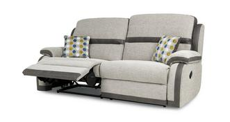 Quatro 3 Seater Manual Recliner