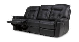 Quest Leder en lederlook 3-zits elektrische recliner