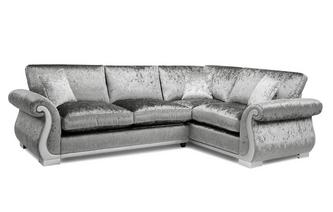 Formal Back Left Hand Facing Arm 3 Seater Corner